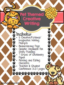 Pet Themed Creative Writing Pack
