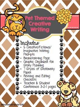 Fictional Narrative Writing - Pet Theme