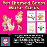 Pet Themed Gross Motor Movement Cards