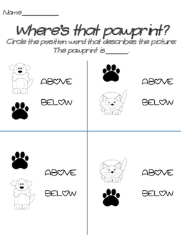 Pet Themed Kindergarten Math Worksheets Nearly-No Writing Needed!