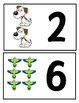 Pet Themed Matching Numbers Game