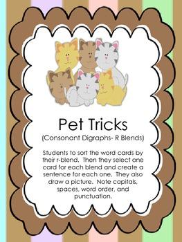 Pet Tricks- Unit 1, Week 4 Macmillan (r-blends)