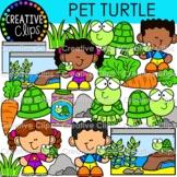 Pet Turtle Clipart: Pet Clipart