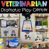 Pet Vet Animal Hospital Dramatic Play Center