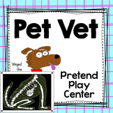 Pet Vet Center Dramatic Play
