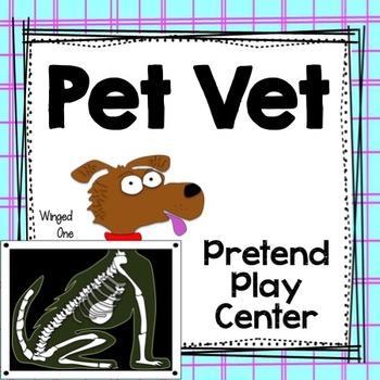 Pet Vet Center Dramatic Play