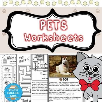 Pet Worksheets Bundle