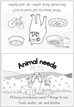 Pet animal needs bundle