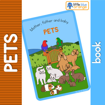 Pet families  book