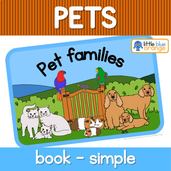 Pet families book (simplified version)