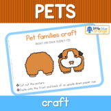 Pet families craft