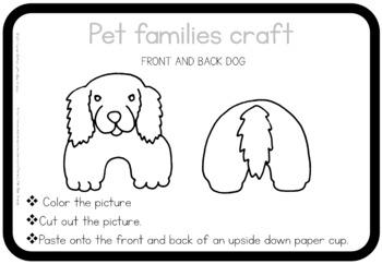 Pet families craft