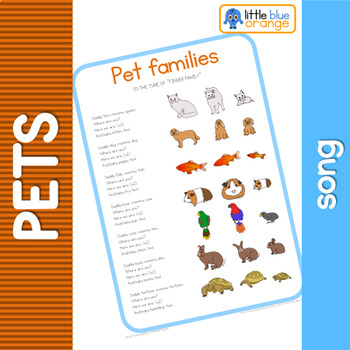 Pet families song