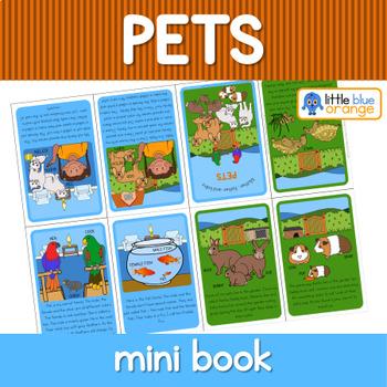 Pet families mini book