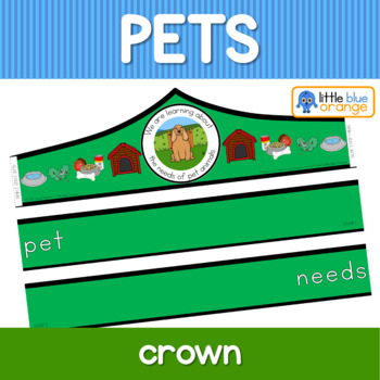 Pet animal needs crown