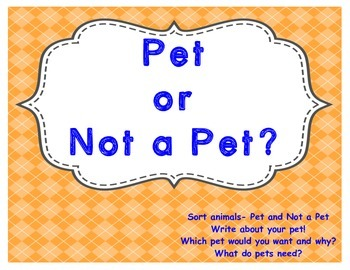 Pet or Not a Pet