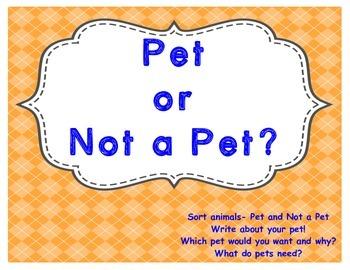 Pet or Not a Pet