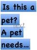 Pet sort, Pet Needs, Charts