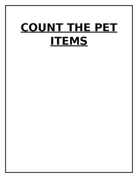 Pet theme search and count