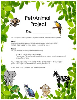 Pet/Animal Project