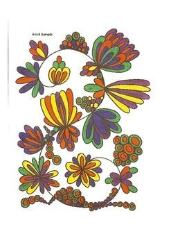 Elementary Visual Art Project - Petal Design