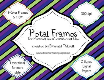 Petal Frames Pack