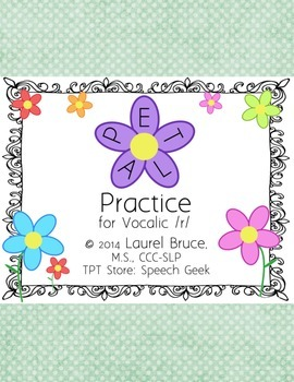 Petal Practice-Articulation and Phonological Awareness for