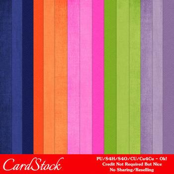 Petal Wings Cardstock Digital Papers