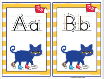 Pete Alphabet and Number Cards Set 2