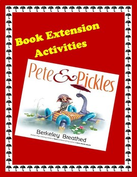 Pete & Pickles Book Extension Activities