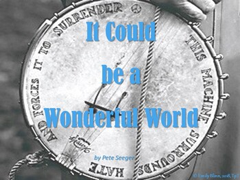 """Pete Seeger's """"It Could be a Wonderful World"""" Sing-Along"""