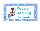 Pete The Cat Behavior Chart