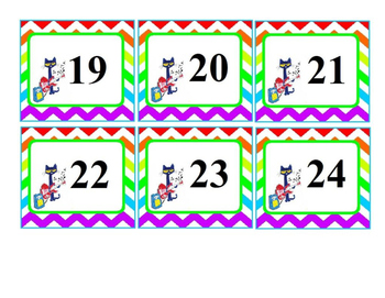 Cat Calendar Days and Months (UPDATED)