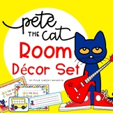 Pete The Cat Inspired Classroom Decor | Back to School