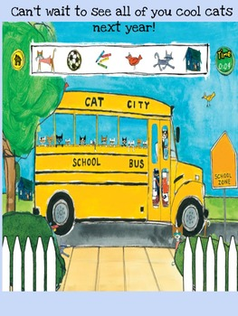 Pete The Cat END OF YEAR, Smart Board