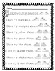 Pete The Cat-I Love My Shoes-Reading Sheet