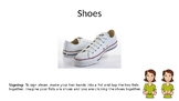 Pete The Cat: I Love My White Shoes Vocabulary Power Point