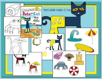 Pete The Cat (Pete At The Beach)