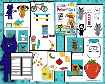 Pete The Cat (Pete's Big Lunch)