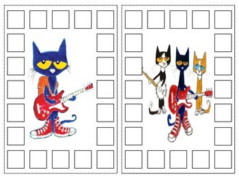 Pete The Cat Punch Cards