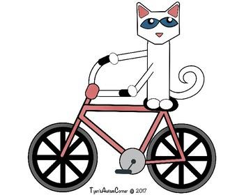 Pete The Cat Robo Pete (Visual Aids)