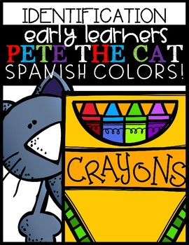 Pete The Cat (Spanish Colors)