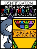 Pete The Cat (Spanish Colors)