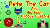 Pete The Cat and His Four Groovy Buttons: Listening Response Sheets + QR code