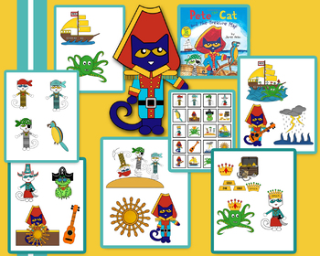 Pete The Cat and the Treasure Map (Visual aids)