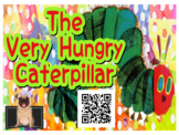 The Very Hungry Caterpillar by Eric Carle: Listening Response Sheets + QR code