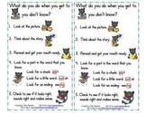 Pete The Panther Reading Strategies