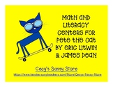 Eric Litwin Literacy and Math Center Activities; Fine Moto