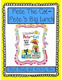 Pete's Big Lunch-book study and activity set