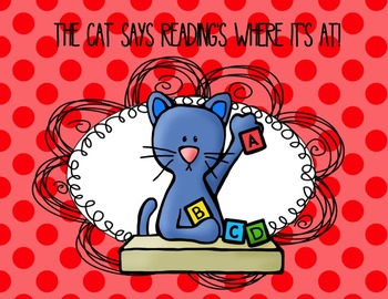Cat Themed Reading Every Day Posters
